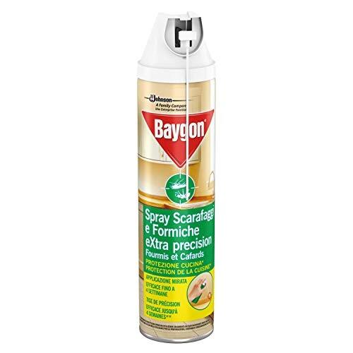 Baygon schiuma scarafaggi e formiche extra precision 400ml-bollicine-casalinghi-salerno