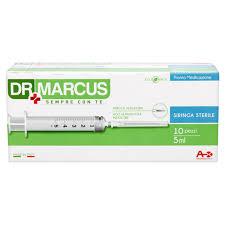 Dr.Marcus siringhe da 5ml confezione 10pz-Bollicine-casalinghi-salerno