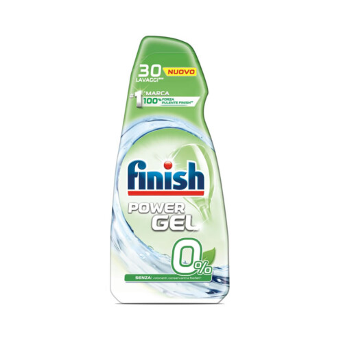 Finish Power Gel 0% - Bollicine Casalinghi Salerno