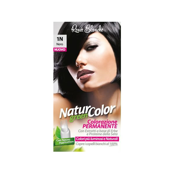 Natur Color Green 1n nero Colorazione Permanente - Bollicine Casalinghi Salerno