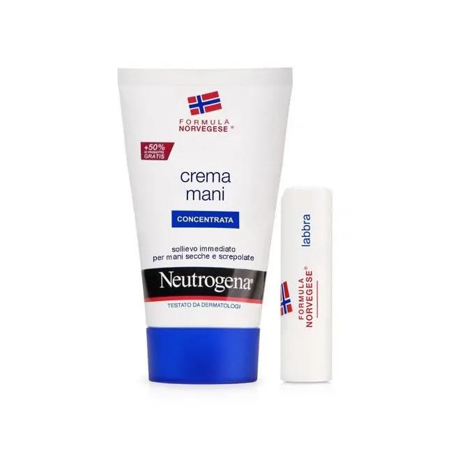 Neutrogena crema mani concentrata +Lipstick - Bollicine Casalinghi Salerno