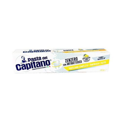 Pasta del Capitano zenzero con antibatterico 100ml - Bollicine Casalinghi Salerno