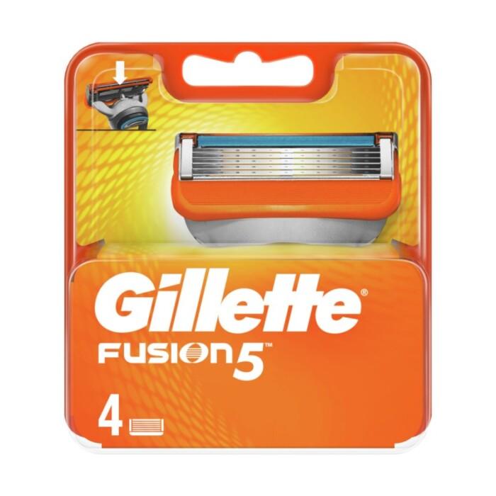 Gillette fusion5 ricariche 4pezzi-bollicine-detersivi.salerno