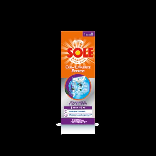 Sole cura lavatrice express-bollicine-salerno-detersivi